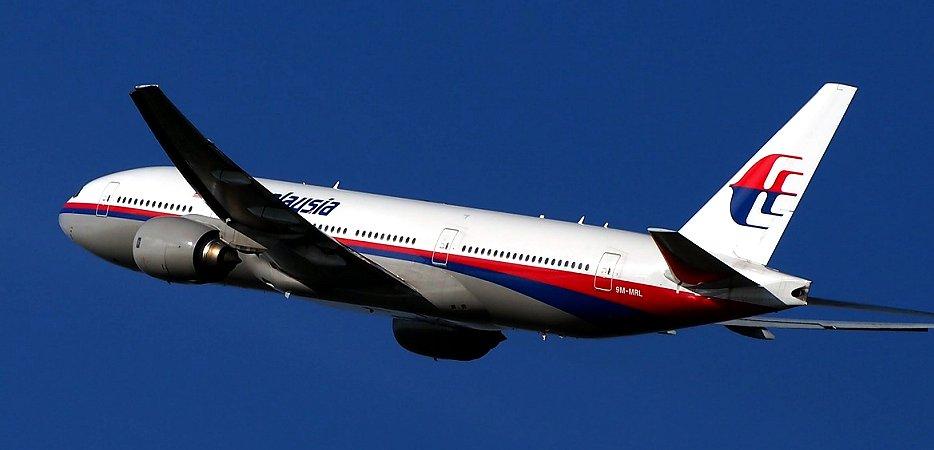 行方不明となったマレーシア航空370便と同型機(ボーイング777-200ER )