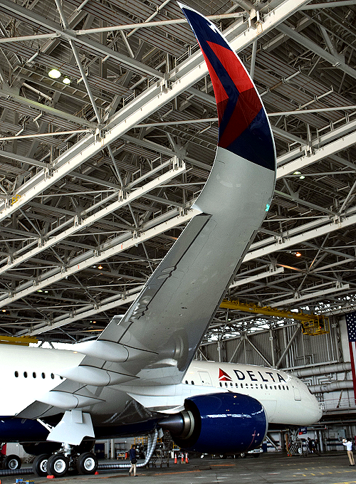 米デルタ航空のA350-900